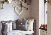 Shabby Chic / Pastel shades, distressed wood and fabulous florals are just some of the shabby chic ideas we love for interior design