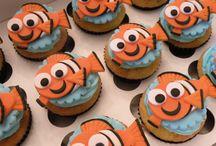 dory cupcakes finding nemo