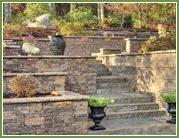 Retaining Walls / Back Yard Living has one of the South Shore's largest inventories of freestanding and retaining walls with over 20 styles to choose from, many with multiple color and pattern options. Click on the manufacturer's links below to view their products.
