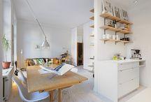 Малки апартаменти! / Вземи вдъхновение от тези страхотни малки жилища!