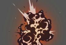 explosions etc