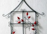 Drót dekorációk