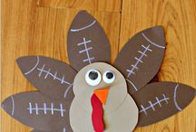 "Turkey Time! / Get ready for Turkey Day with our upcoming Family Creative Arts Workshop - ""Turkey Trouble"" - on Tuesday, November 18th from 1:15 to 2:15PM. To get ready for the workshop, enjoy these at-home Thanksgiving-inspired crafts. To register for Turkey Trouble: http://everymantheatre.org/classes/youth"