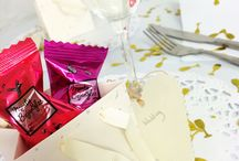Monty Bojangles Weddings / Favours, gifts, table decorations & meal treats
