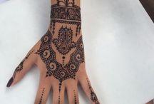 Tatouages style henné