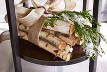 birch wood decor