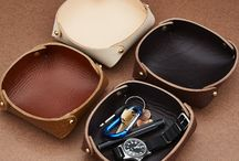 Leather trays / Leather trays