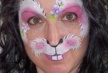 ansiktsmaling påske