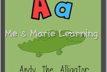 School: Alphabet / by Adriann Downes