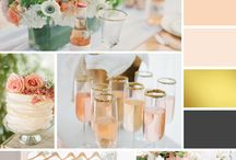 Inspiration Boards + Mood Boards / Brand inspiration or mood boards for wedding planners and photographers - Magnolia Creative Studio