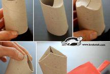 WC rolkové nápady či výtvory