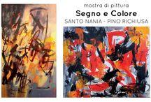 Segno e Colore: Santo e Pino 19/09/2015