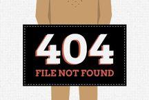 404 / Come scoprire se un sito è bello? Testa la sua 404.....