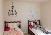 My twin girls' room