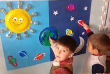 okul öncesi gezegenler