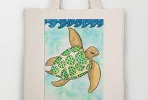 Tote Bags / by Rosie Brown