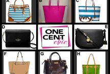 FULL MOON FASHION FRIDAY / Designer Bags @OneCentChic Auction at 10 PM ET