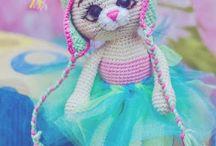 амигуруми кошка