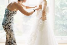 Mother of bride and bride photography