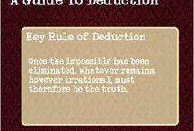 Deduction stuff