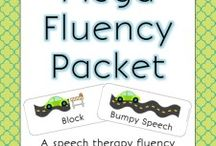 fluency / Ideas and activities to work on fluency (stuttering) in speech therapy!