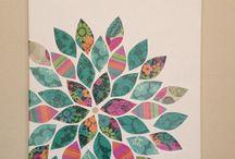 Canvas papercraft
