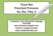 SLP Pronoun Freebies