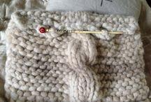 Knit and crochet (neulomuksia) / Kaikenlaisia puikoilla aikaansaatuja tuotoksia