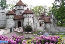 "There is NO Waterfall Castle In Poland / yes, im dutch,.. and proud of themepark The Efteling..  where you can find the ""castle""  who some dumbass named Waterfall Castle In Poland..    People,..  its FAKE!!  PHOTOSHOP...  the real deal is in the Efteling, Netherlands / by Richard de La Rouge"