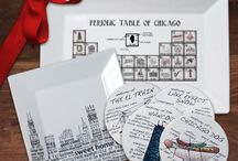 Chicago Themed Gifts / Made with love about the City we love, each one of these unique gifts encompasses all of our favorite things about the Second City!