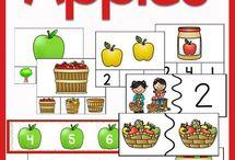 Apple Crafts, Activities, Printables