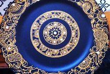 Henna plates