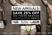 New Spring Collections Men's Underwear