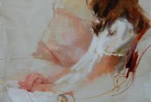 Alla Prima Figure Paintings