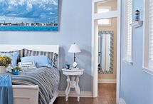 Bedroom- Blue/White/Shaker