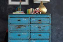 dresser, drawer, table etc