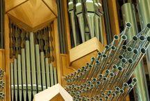 varhany - pipe organs / píšťalové varhany - ohromná krása zvuku i potěšení pro oči