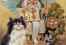 Tony Wolf Illustrator (Antonio Lupatelli) / Illustrations, playing cards
