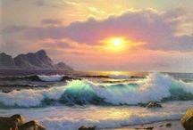 Seascape paintings / Art