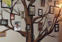Lauren / Family tree mural no.1
