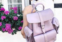 LAVENDER CROC Backpack
