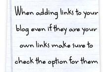 Business & Blogging Advice