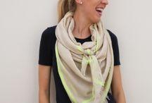scarf wear