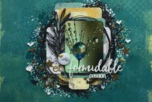 Cindy Brown / Beautiful art from Cindy Brown using products from Lindys