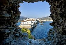 Travel to Andros, Greece