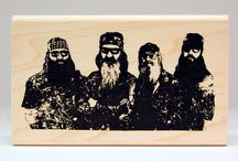 KellyCraft Duck Commander® Stamps / Rubber stamps & clear polymer stamps from KellyCraft Innovations - Duck Commander!