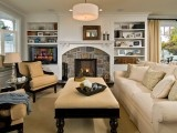 fire place and mantles