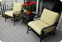 DIY Patio Cushions / How to DIY patio cushions because they are so expensive to buy!