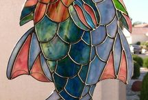 Stained Glass / Stained glass I'd like to make one day / by Nicki Hollerich