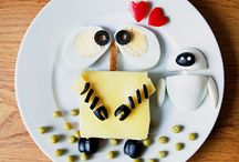 Cartoon Food Art